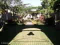 Een kerkhof binnen Las Ruinas