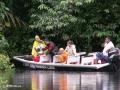 Tortuguero Nationaal Park moet je per boot verkennen