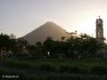Het leuke stadje La Fortuna ligt aan de voet van Volcán Arenal