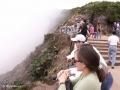 Door 'wolkenpech' was er in Volcán Poás Nationaal Park geen kratermeer te zien