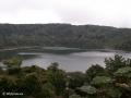 Vreemd genoeg laat de naastgelegen Laguna Botos zich prima zien