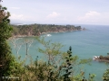 Aantrekkelijke blauwe baaien in Manuel Antonio Nationaal Park