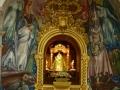 De patroonheilige van de eilanden, de Virgen de Candelaria