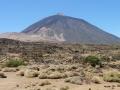 Pico del Teide vanuit oostelijke richting gezien