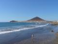 Surfer's paradise El Médano in het zuiden van Tenerife
