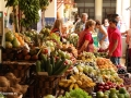 Funchal: kleurrijke stalletjes in de Mercado dos Lavradores