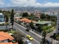 Funchal: uitzicht vanuit ons appartement.