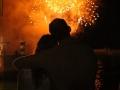 Funchal: vuurwerk tijdens het Atlantic Festival in de haven.