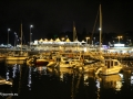 Funchal: de jachthaven by night.