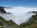 Boven de wolken vlakbij Pico do Arieiro