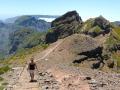 Pico do Arieiro: start van de stevige wandeling naar de hoogste berg Pico Ruivo