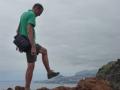 Caniço de Baixo: we lopen bijna Funchal onder de voet