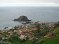 Porto Moniz met het rotseiland Ilhéu Mole