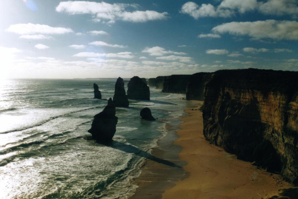 Great Ocean Road - 12 Apostles (foto uit 2004)