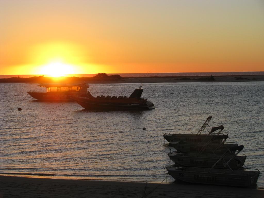 Kalbarri - Zonsondergang na een vermoeiende dag