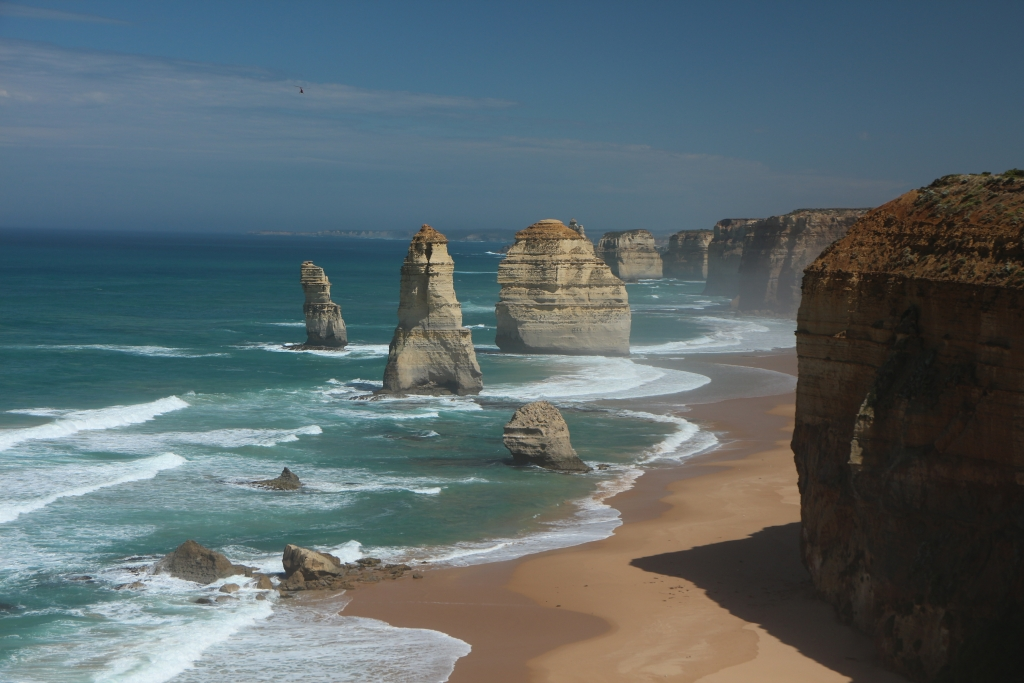 Great Ocean Road - 12 Apostles minus 1 (foto uit 2014)
