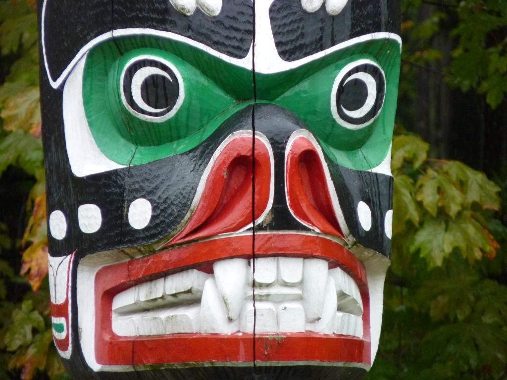 Vancouver - Totempalen zijn kenmerkend voor Stanley Park