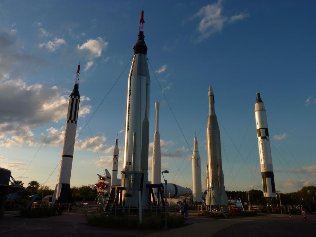 Reistips USA - De Rocket Garden van Cape Canaveral