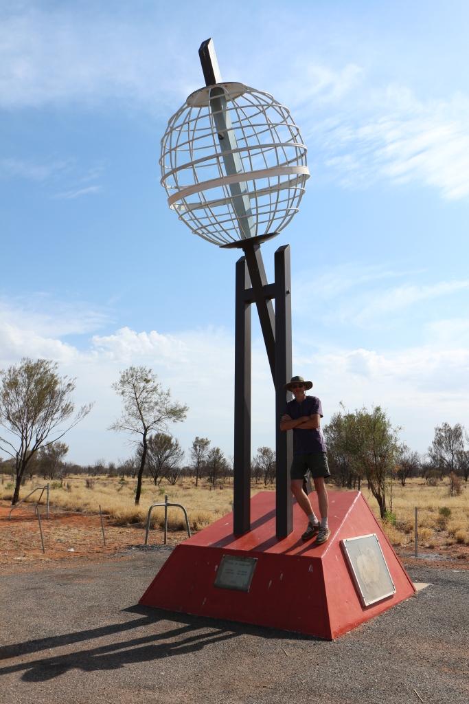Steenbokskeerkring - 30km ten noorden van Alice Springs (NT)
