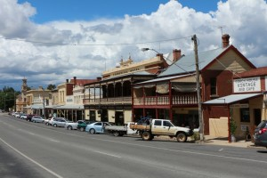 Historical and well preserved Beechworth is your typical gold diggers town from the mid 1850s.