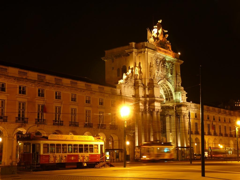 Praça do Comércio - Lissabon - Portugal