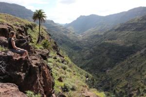 Prachtig zicht op de smalle Barranco de Soría