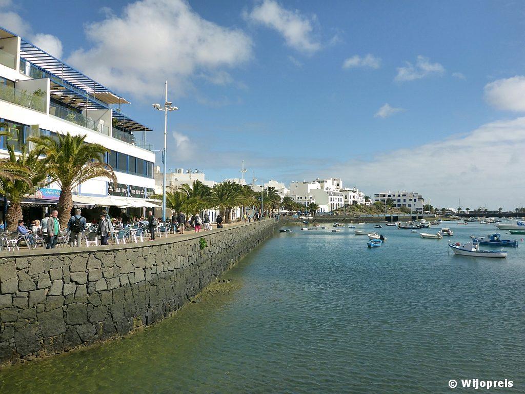 De binnenhaven van de havenwijk El Charco