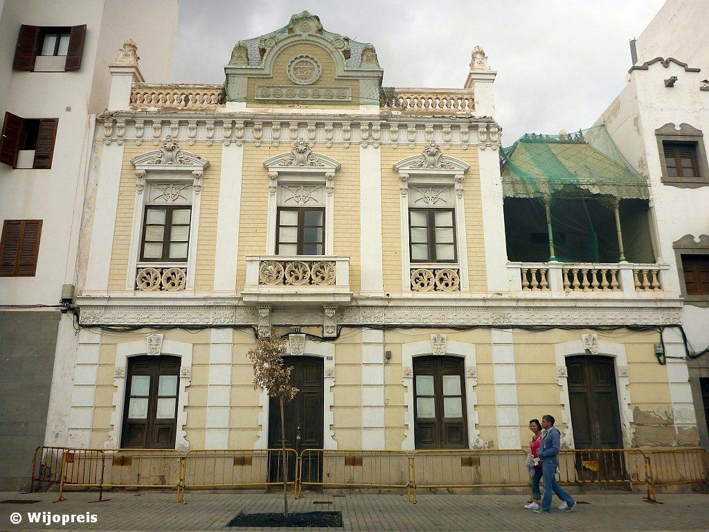 Is dit gebouw uit 1917 het oudst overgebleven in Arrecife?