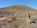 Start van de klim van Montaña Grande in Güímar (277m)