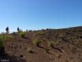 Op de rand van de krater van Montaña Grande in Güímar