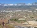 Uitzicht over Valle de Güímar vanaf Montaña Grande