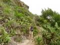 Wandelen in de buurt van Chamorga in het noordoosten van Tenerife