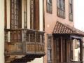 Typische Canarische balkons in La Orotava