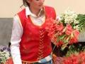 Funchal: bloemenmeisje bij de Mercado dos Lavradores