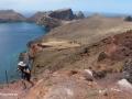 Ponta de São Lourenço: beklimmen van de Pico do Furado