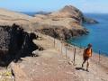 Ponta de Sào Lourenço: de Estreito is het met slechts enkele meters het smalste stuk