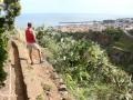 Ribeira de João Gomes: het wandelpad langs de Levada do Bom Sucesso komt uit in noordelijk Funchal
