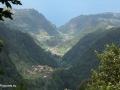 Queimadas: uitzicht tijdens de wandeling naar Caldeirão Verde