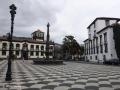 Funchal: het Praça do Municipio (stadhuisplein).