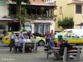 Funchal: socialiseren voor de deur van restaurant O Tapassol