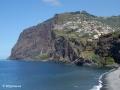 Câmara de Lobos: zicht op de steile kliffen van Cabo Girão