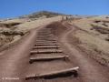Ponta de São Lourenço: het voorzichtige begin van de beklimming van Pico do Furado
