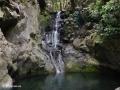 Waterval in het dal van de Ribeira de João Gomes