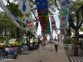 Funchal: kunst tijdens de feestmaand langs Avenida Arriaga