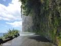 Gratis autodouche aan de ER101 ten oosten van Madalena do Mar