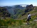 Prachtig uitzicht vanaf Pico do Arieiro (1818 meter)